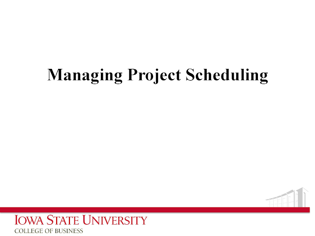 Download Managing Project Scheduling