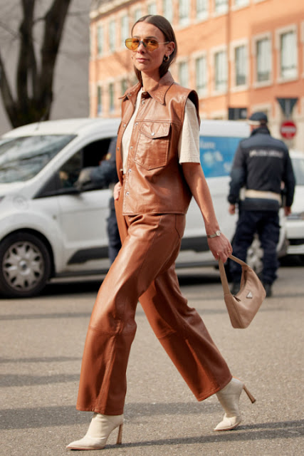 Стильный образ модные брюки 4-1