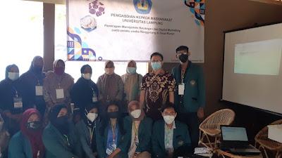 Akademisi Unila Gelar Pengabdian Masyarakat  di Desa Kunjir
