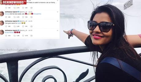 """Oviya,Please Come out of BIGG BOSS""- Aishwariya Rajesh | TK 214"