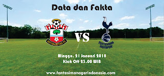 Data dan Fakta Fantasy Premier League Southampton vs Tottenham Hotspur Fantasi Manager Indonesia