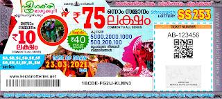 23-03-2021 Sthree-Sakthi kerala lottery result,kerala lottery result today 23-03-21,Sthree-Sakthi lottery SS-253,kerala todays lottery result live