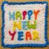 Idea: Individuales para feliz año nuevo!!!