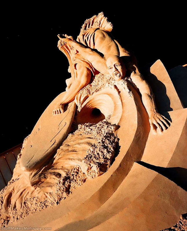 Amazing Sand Sculptures Art Images By Joo Heng Tan