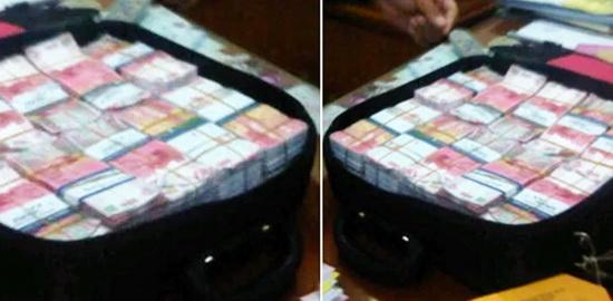 Heboh! Dua Koper Berisi Milyaran Uang di Rumah Politikus Gerindra, Dikira dari Jin, Ternyata..