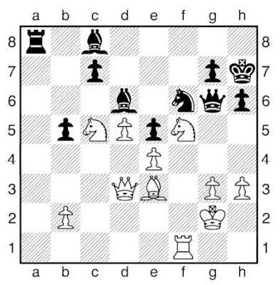 La partie d'échecs finale du jeu de la dame