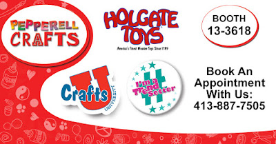 Visit Booth 13-3618 at the Dallas Toy Preview - Sept 27-29th