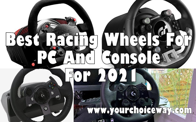 Best Racing Wheels For PC And Console For 2021 - Your Choice Way