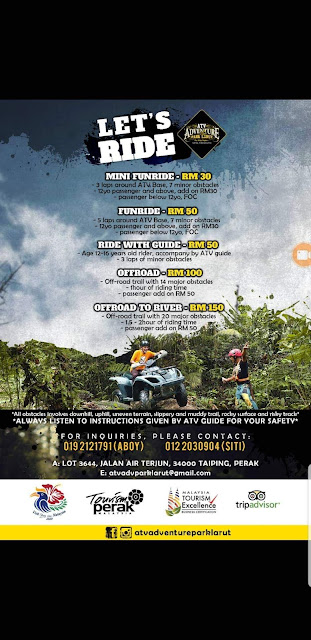 Sensasi Menginap di ATV Adventure Park Larut: Back to Nature dan Digigit Pacat