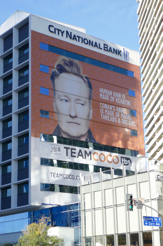 Giant Conan Join Team Coco Jan19 billboard