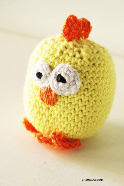 Crochet An Easter Chicken Free Pattern Akamatra