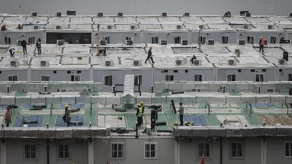 Cerita Lengkap China Bisa Bangun Rumah Sakit Hanya Dalam 10 Hari