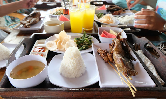 #TurCokelatBali #NikmatnyaCokelat Frisian Flag - The Pond restaurant Bali