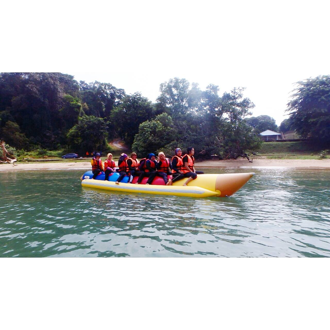 Banana Boat di Port Dickson
