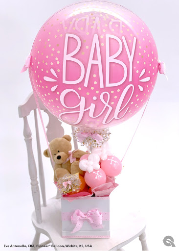 Baby Girl Delivery Design by Eve Antonello