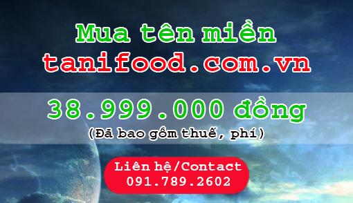 tanifood tanifood.com.vn, đặc sản tây ninh