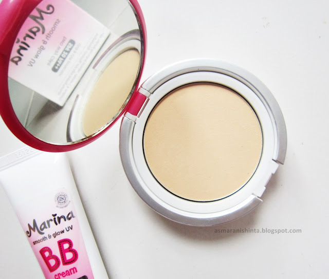 review marina smooth glow uv