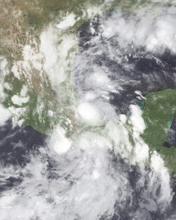Tropical Storm Fernand targets Mexico's coast as Gabrielle spins at sea near hurricane season's peak