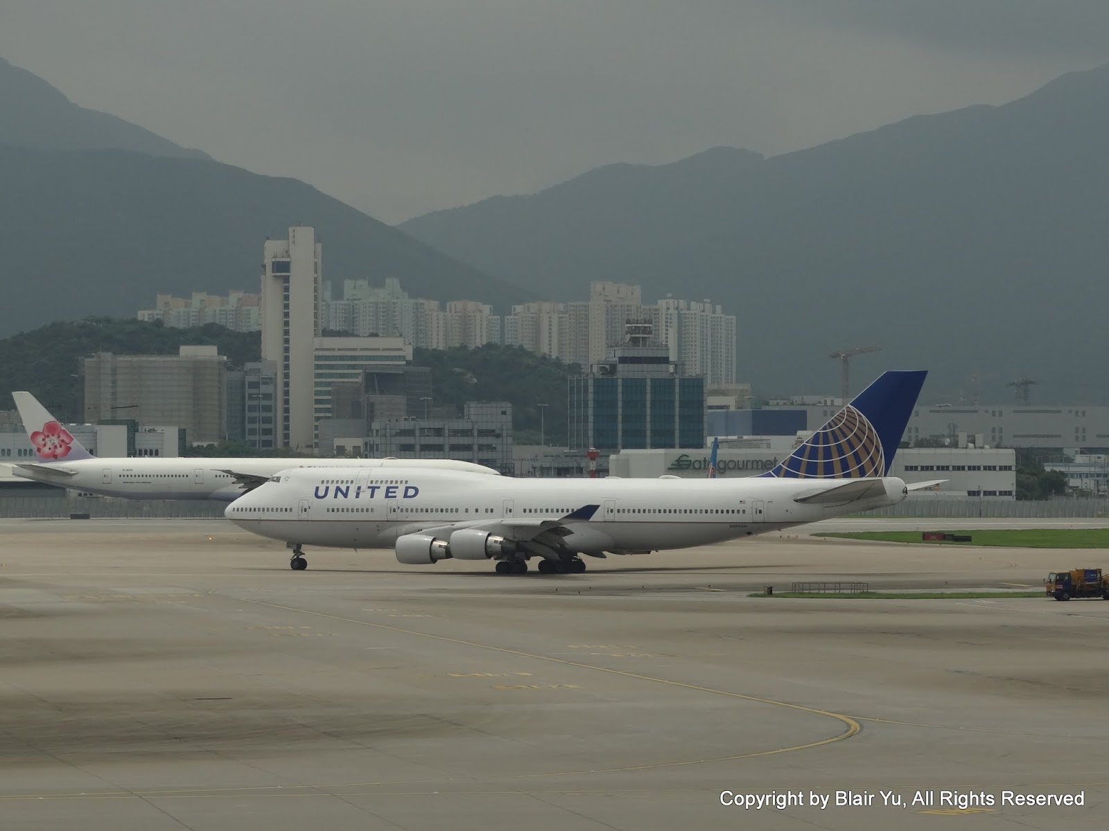 聯合航空 UNITED AIRLINES N197UA 747-422