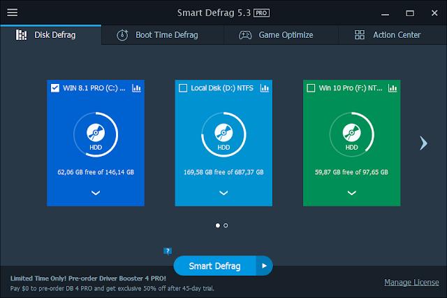 IObit Smart Defrag PRO v5.3.0.976 Multilingual