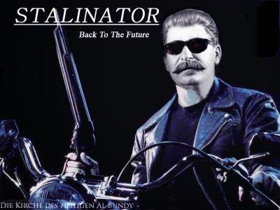 Josef Stalin lustige Motorrad Rocker Bilder