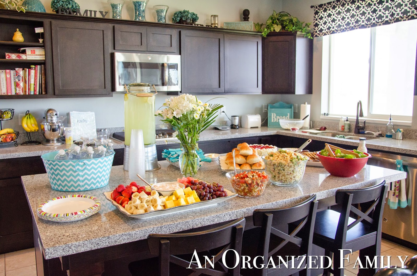 An Organized Family: Project: A Modern Country Baby Shower