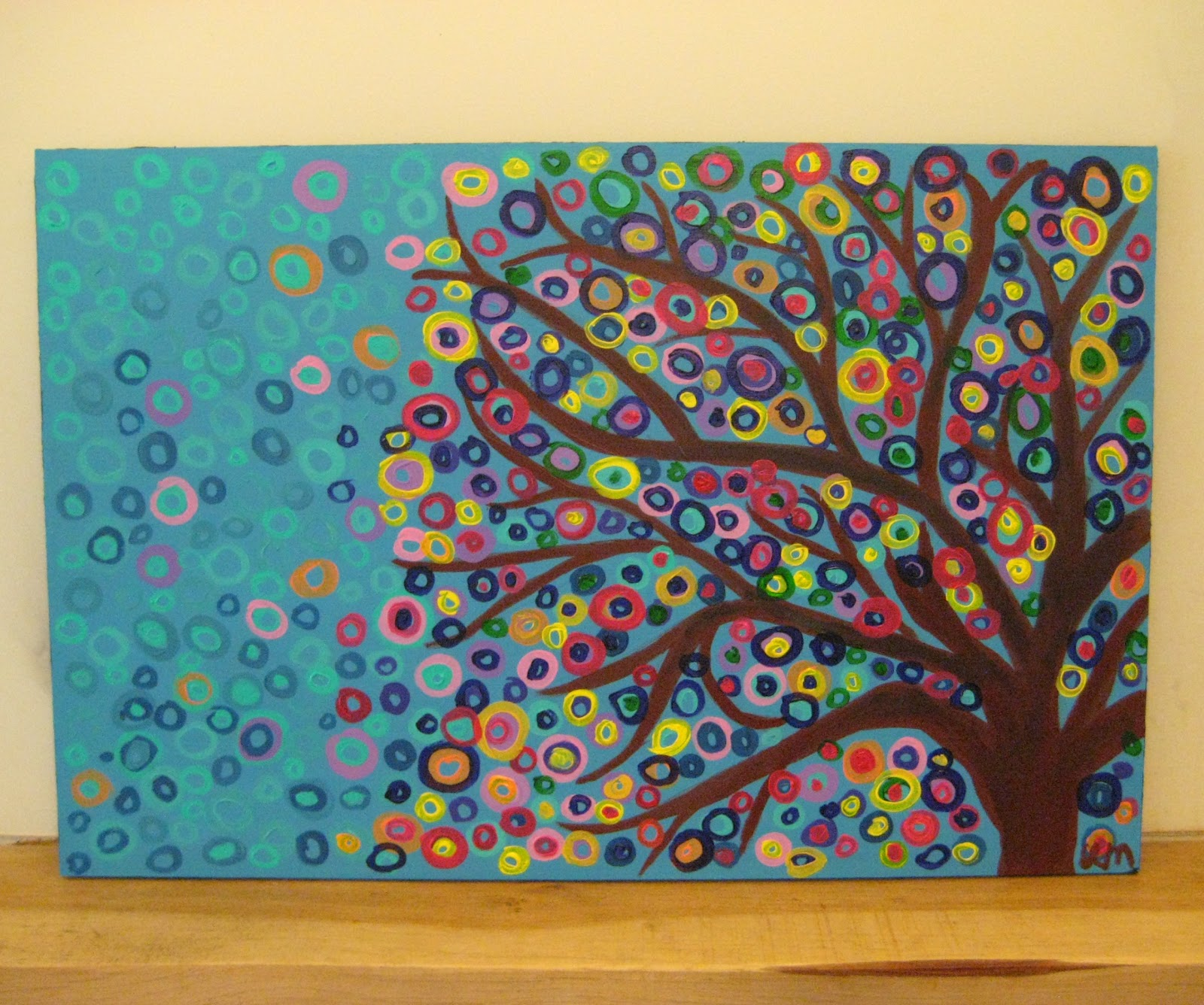 Louise Mead Large Abstract Tree