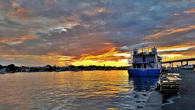 Potter's Cay Sunset