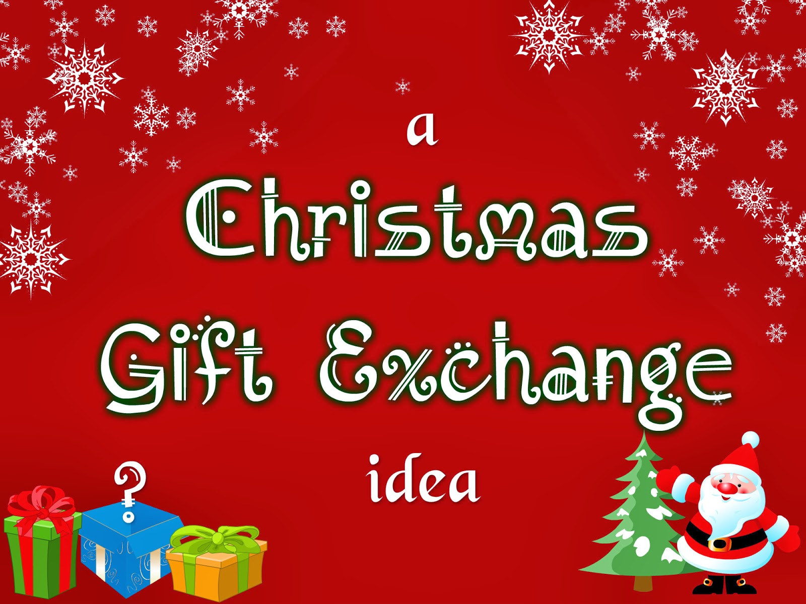 makeupwednesday: Blogmas Day #8: Christmas Gift Exchange