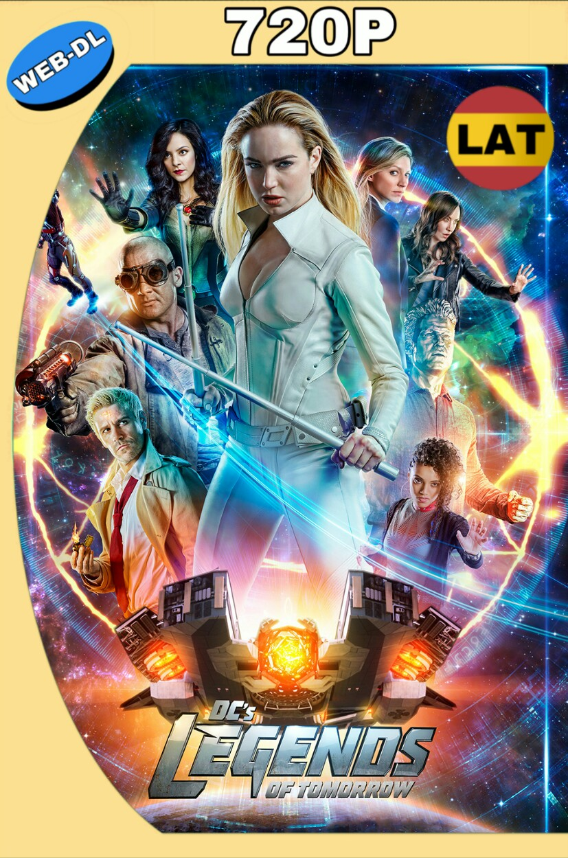 DC'S LEGENDS OF TOMORROW TEMPORADA 04 (06/16) HD 720P LATINO MKV