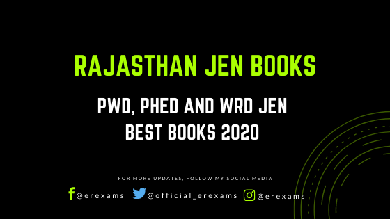 Rajasthan JE Best Books – RSMSSB JE 2020 Books Civil, Mechanical and Electrical - ErExams - Engineering Exams Guidance RSS Feed  IMAGES, GIF, ANIMATED GIF, WALLPAPER, STICKER FOR WHATSAPP & FACEBOOK