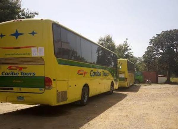 Haití retiene autobuses de Caribe Tours por demanda de RD$33 millones