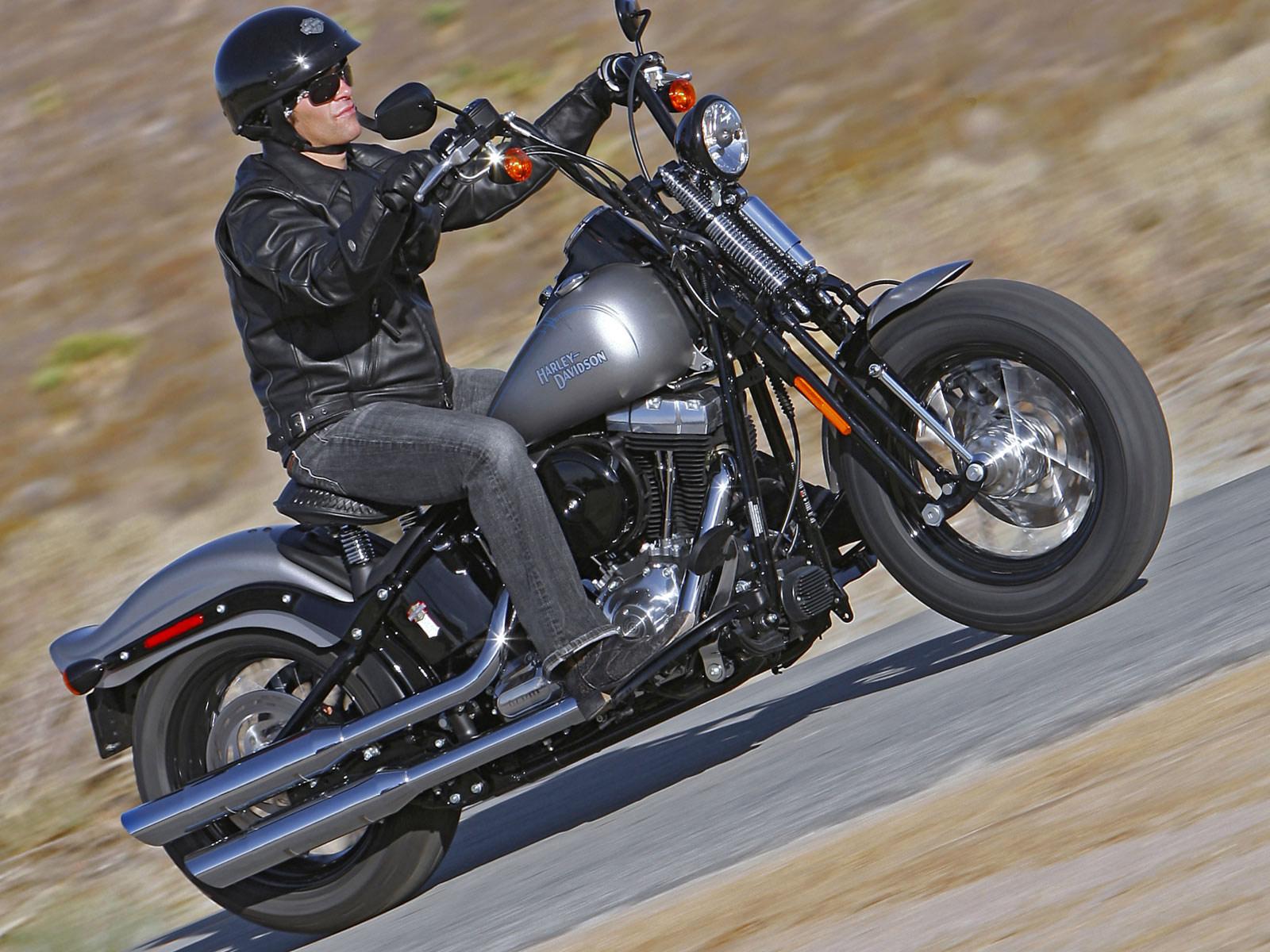 Harley Davidson: Harley-Davidson Pictures. 2008 FLSTB Softail Cross Bones