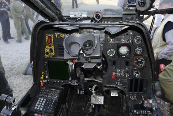 AgustaWestland AW129 Mangusta cockpit