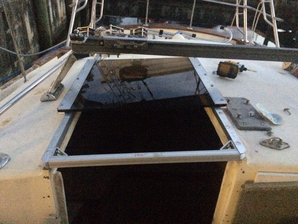 The Incredible Hull Sliding Companionway Hatch Finally