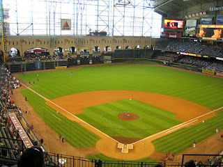 Home to center, Minute Maid Park