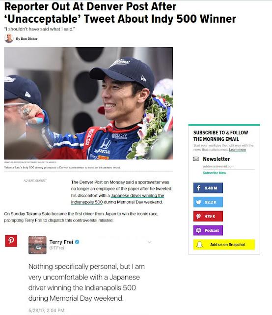 www.huffingtonpost.com/entry/sportswriters-tweet-about-japanese-indy-500-winner-causes-a-stir_us_592c128ee4b0065b20b7769c