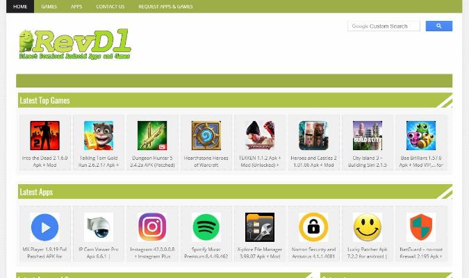 Situs Terbaik Untuk Download Aplikasi Premium - RevDL