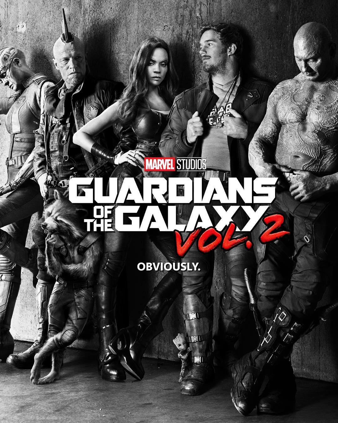 Стражи Галактики 2: первый постер