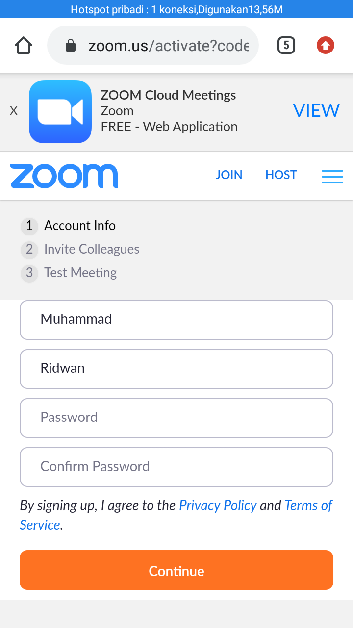 aplikasi zoom cloud meeting di hp