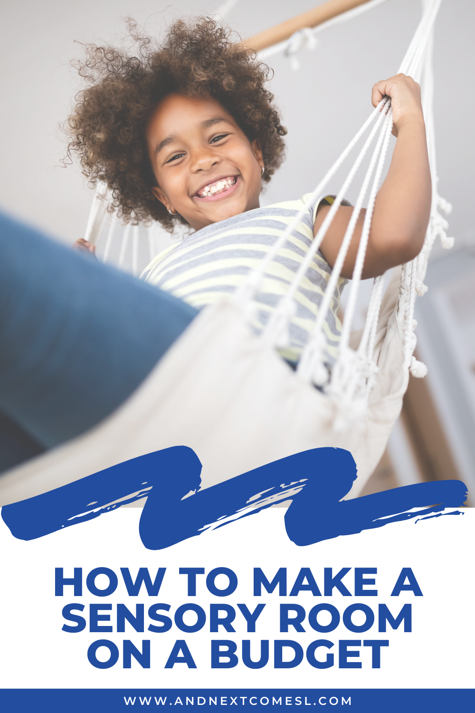 How to make a sensory room on a budget - great tips!