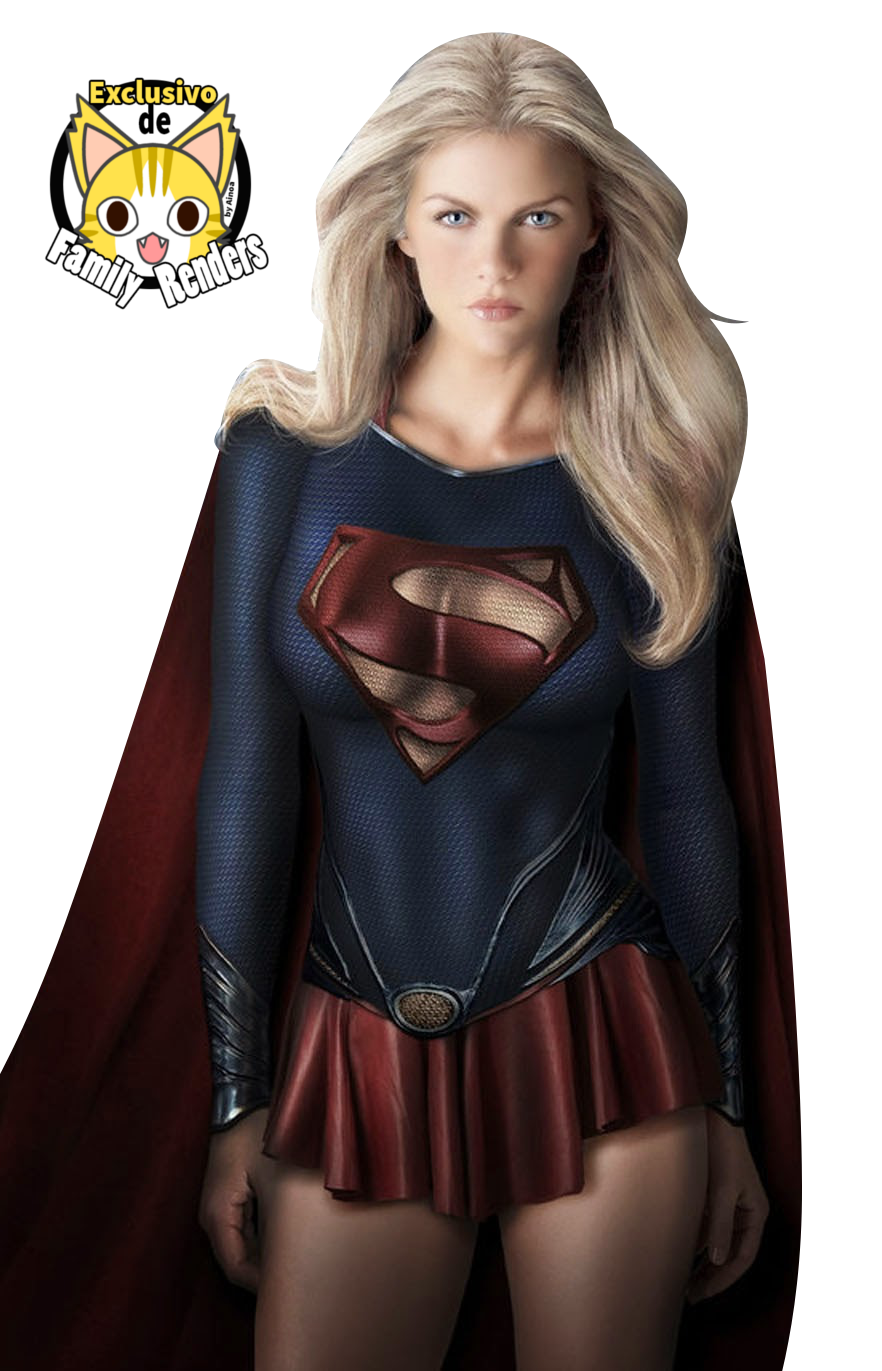Render supergirl+ justice league