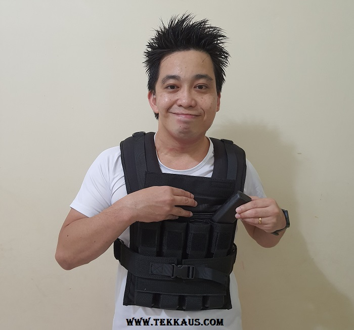 GravGear Best Weighted Vest Customize Iron Weight Nuggets