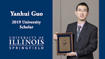 Assistant Professor of Computer Science Yanhui Guo named the University Scholar at UIS
