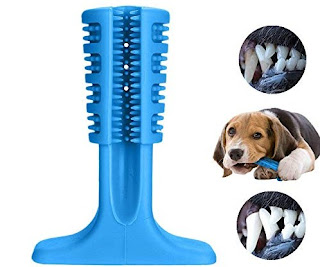 Dog's Toothbrush Chewing Stick Play Toy - Kaleni