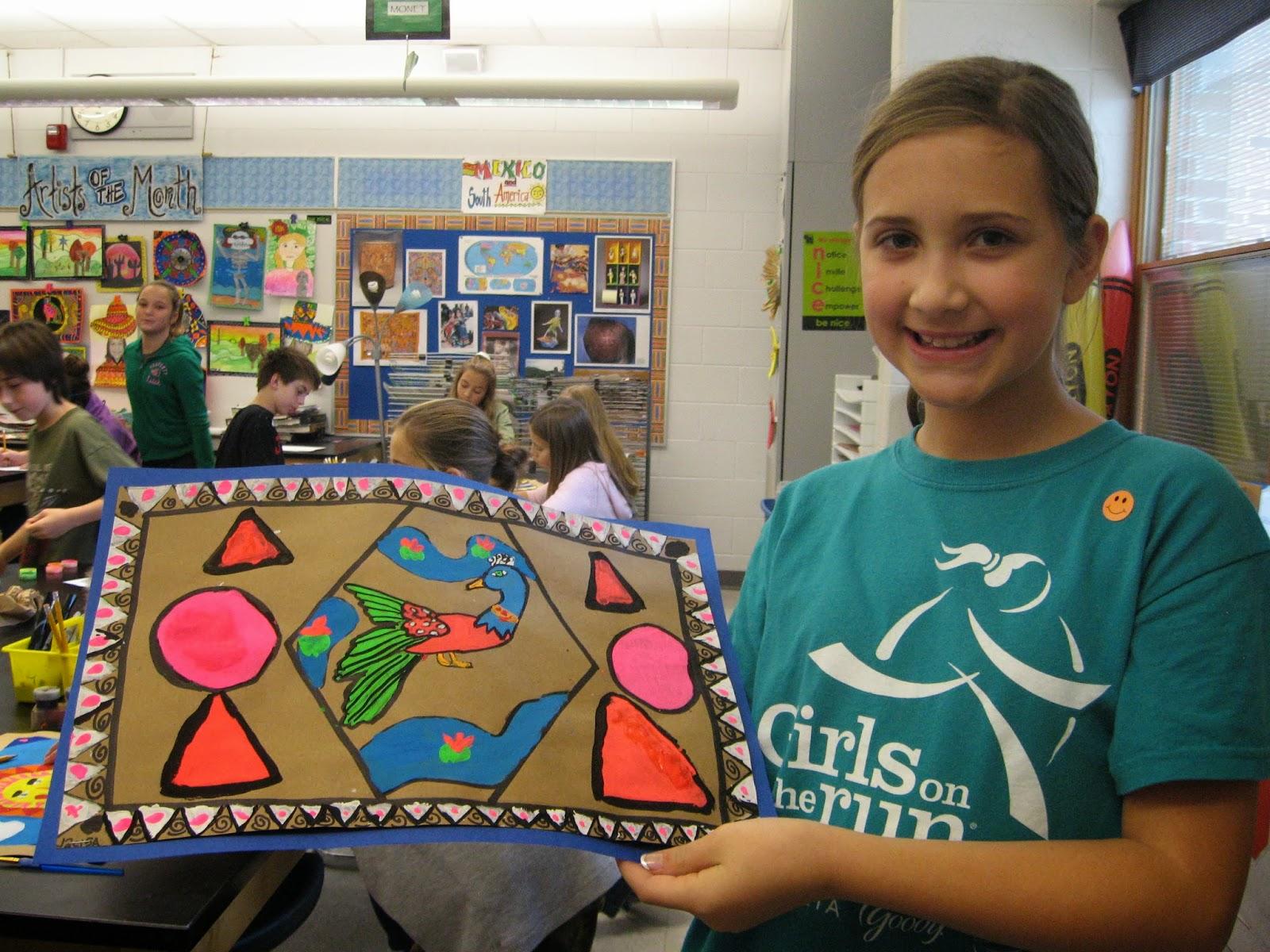 Jamestown Elementary Art Blog 5th Graders Report About Mexican Folk Art