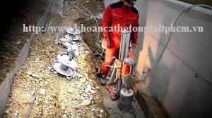 Khoan cắt bê tông tại thành phố Vũng Tàu
