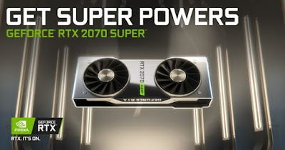 Nvidia GeForce RTX 2070 SUPERドライバーダウンロード