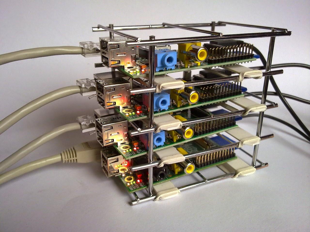 Raspberry B - Cluster Web