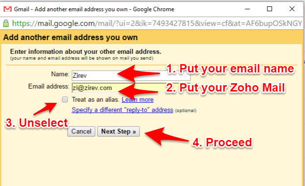 how to set up forward in gmail